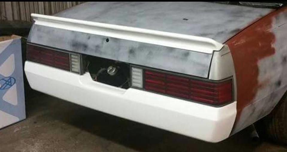 1978 1987 Fits Chevrolet El Camino Rear Roll Pan Bumper