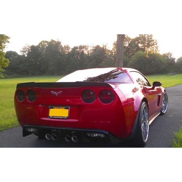 06-12 C6 Corvette ZR1 Rear Spoiler extended version ...