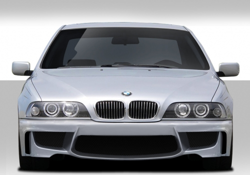 1997 2003 fits bmw 5 series m5 e39 4dr 1m look front bumper cover 1 piece exotic euro parts. Black Bedroom Furniture Sets. Home Design Ideas