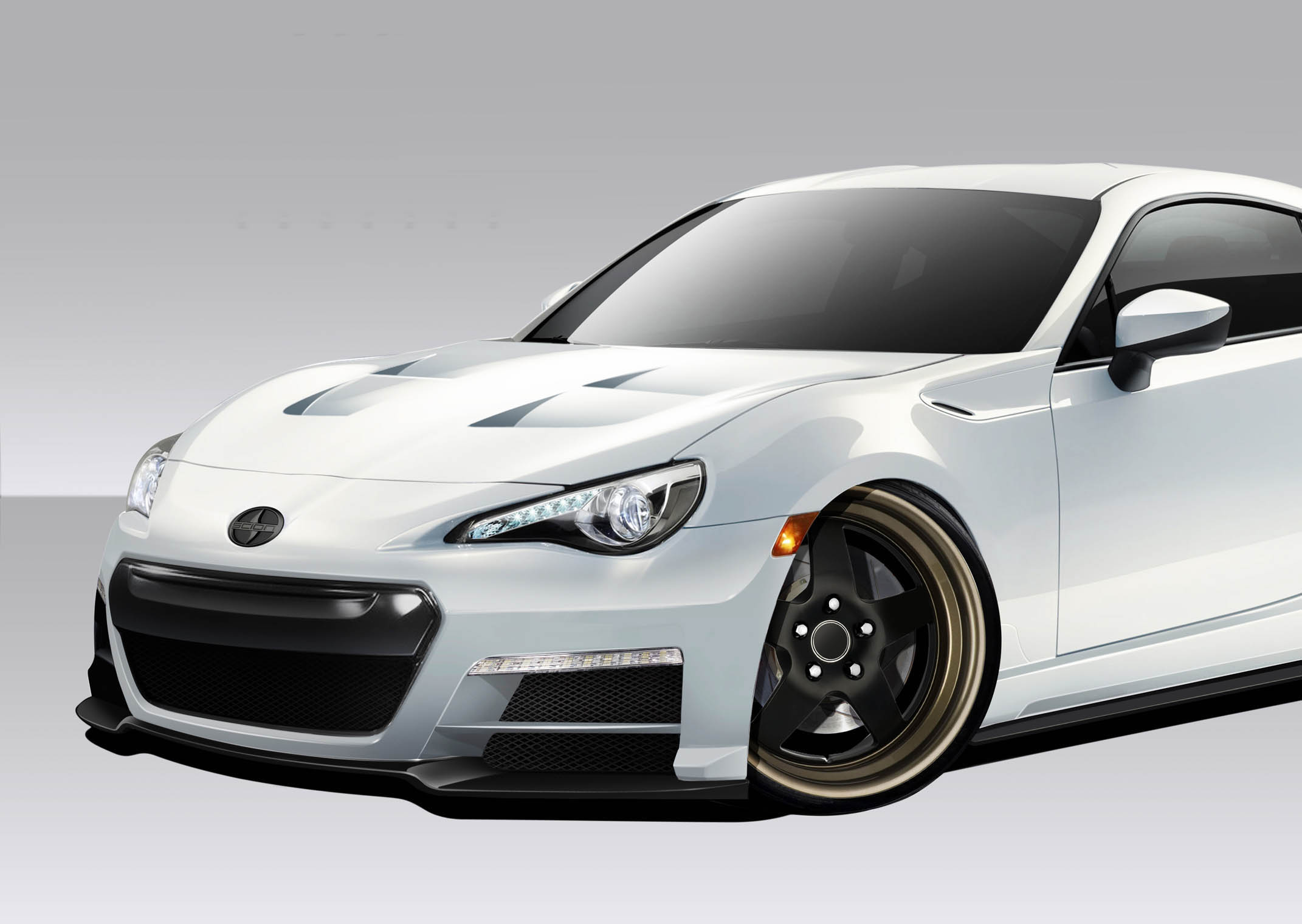 2013 2016 fits scion fr s fits subaru brz 86 r body kit. Black Bedroom Furniture Sets. Home Design Ideas