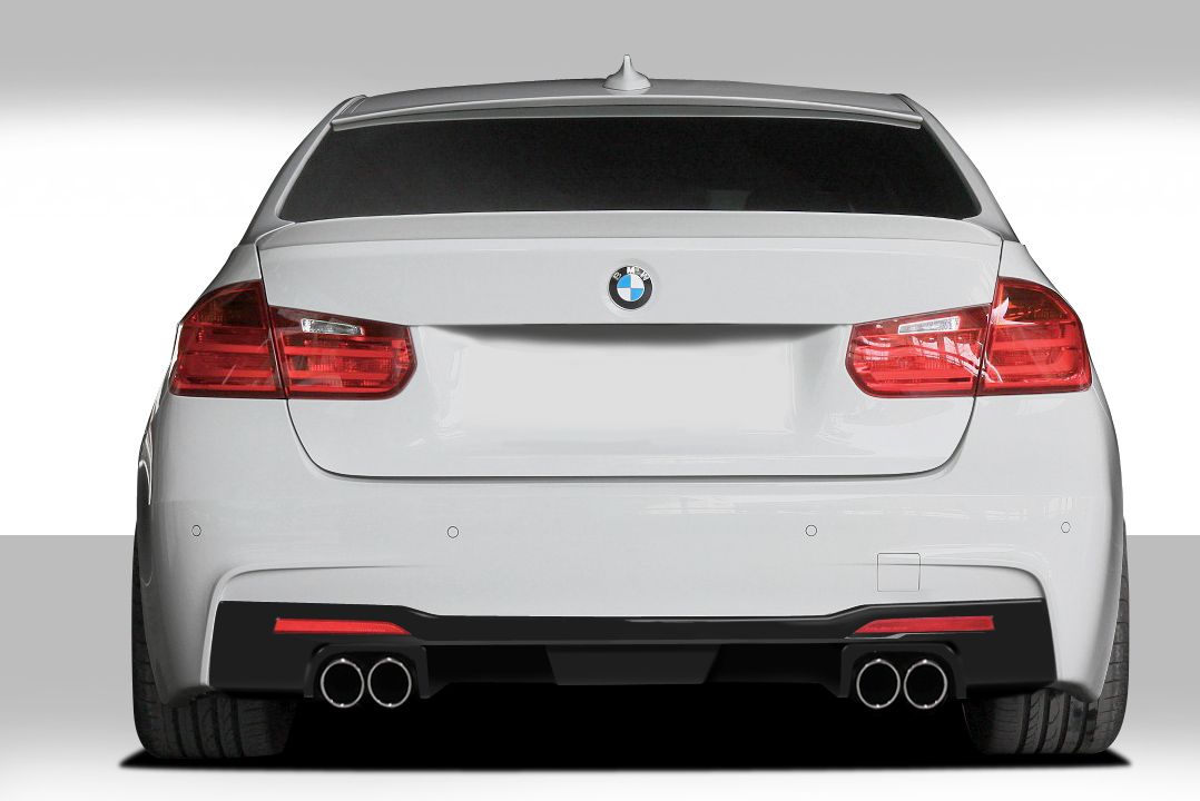 2012 2017 fits bmw 3 series m sport 4dr f30 eros version 1 rear diffuser 1 piece exotic. Black Bedroom Furniture Sets. Home Design Ideas