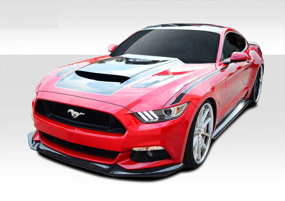 2015 2017 fits ford mustang gt concept body kit 5 piece. Black Bedroom Furniture Sets. Home Design Ideas