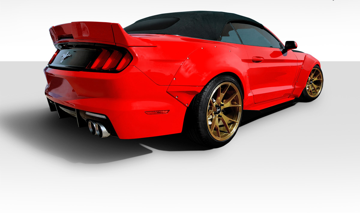 2015 2017 fits ford mustang grid body kit 9 piece. Black Bedroom Furniture Sets. Home Design Ideas