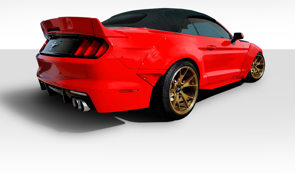 2015 2017 fits ford mustang grid wide body kit 8 piece. Black Bedroom Furniture Sets. Home Design Ideas