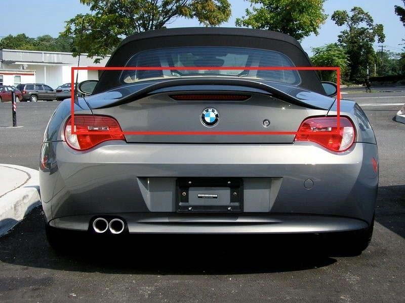704668742871 Fits  BMW Z4 E85 2002 – 2008 REAR BOOT TRUNK SPOILER NEW TAILGATE AERO