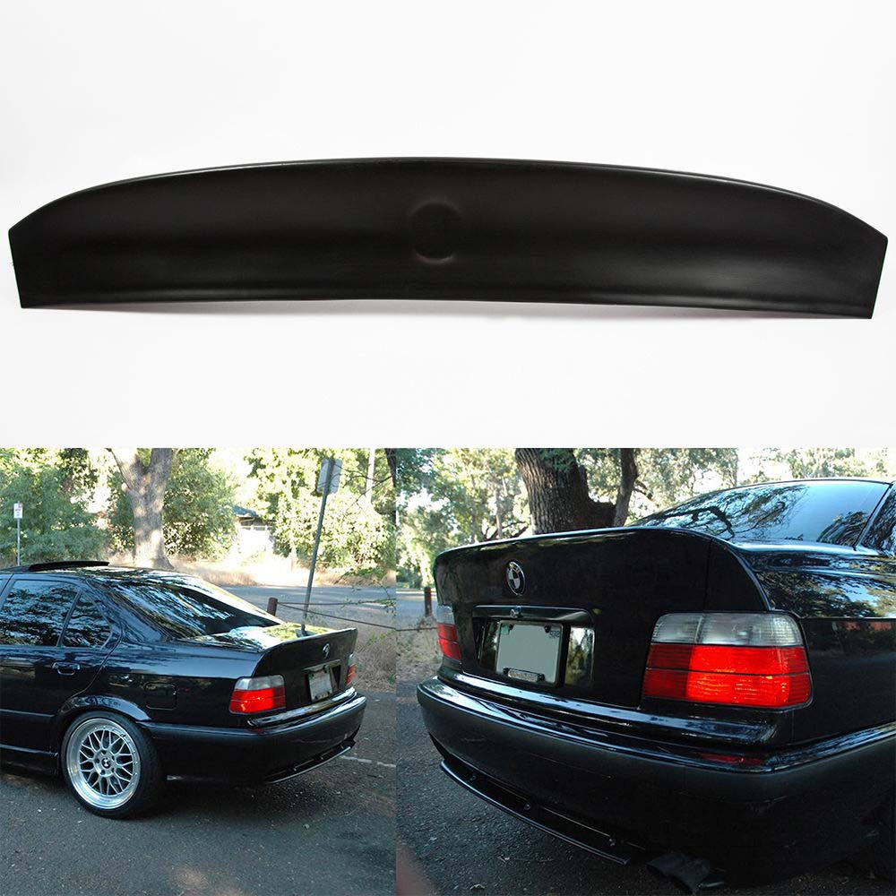 Fits Bmw E36 Csl Style Trunk Rear Spoiler Ducktail For