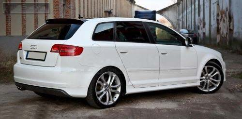Fits Audi A3 8p 03 12 Rear Bumper Spoiler S Line Lip Valance Addon S Line Abt S3 Rs3