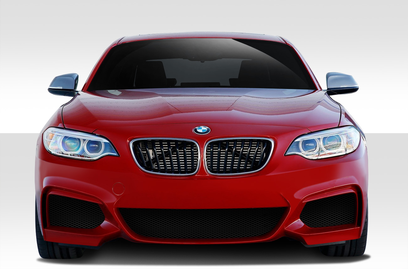 2014 2017 fits bmw 2 series f22 m sport look front bumper cover 1 piece exotic euro parts. Black Bedroom Furniture Sets. Home Design Ideas