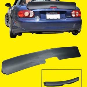 Rear Trunk Lip Wing Spoiler Kit