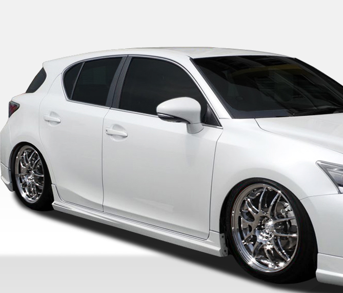 2011 Lexus Ct Suspension: 2011-2017 Fits: Lexus CT 200H Duraflex TM-S Side Skirts