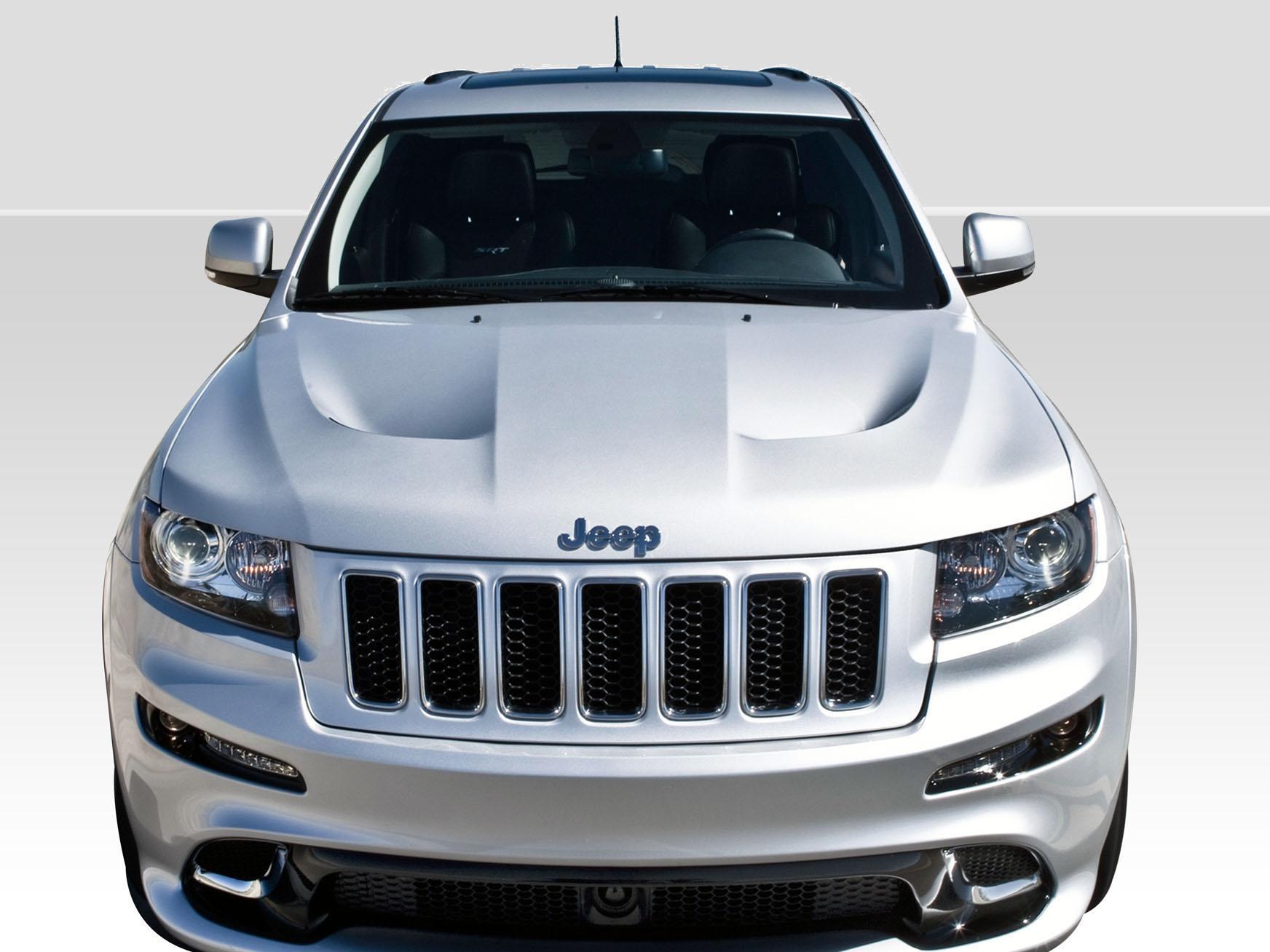2011-2015 Jeep Grand Cherokee Duraflex SRT Look Hood - 1 Piece