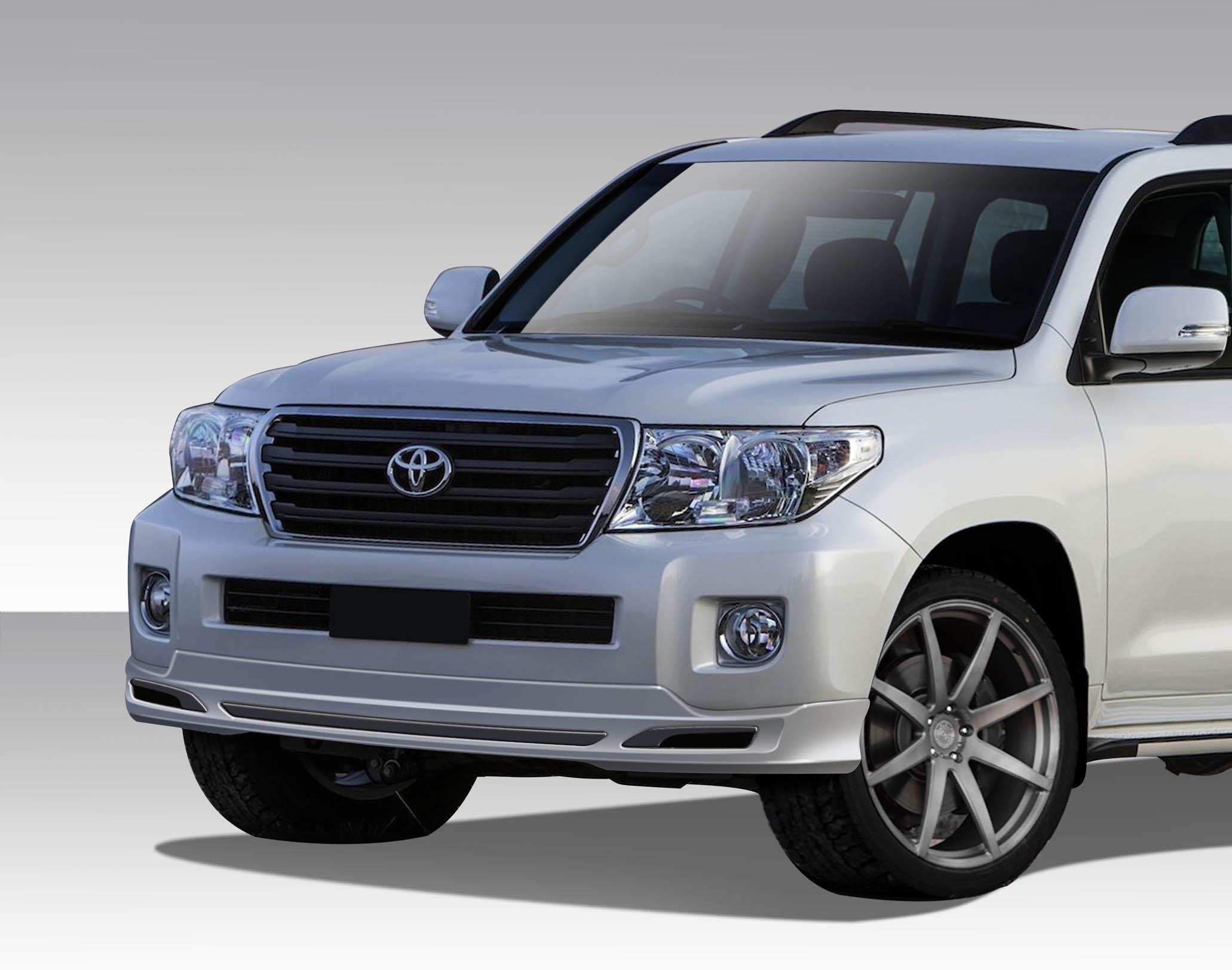 2013 2015 Toyota Land Cruiser Duraflex J Sport Front Lip Under Air
