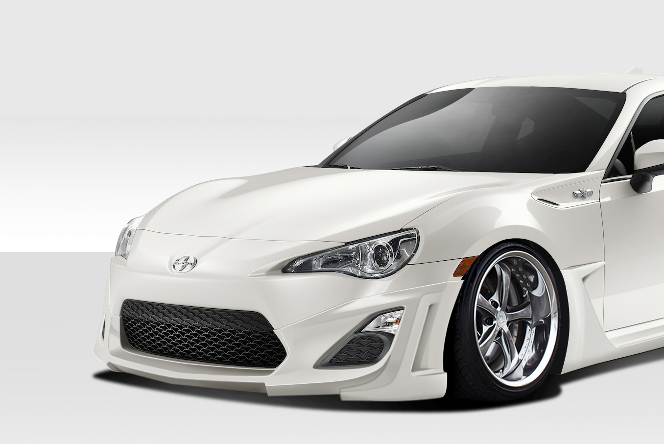 2013 2016 fits scion fr s duraflex w 1 front lip under. Black Bedroom Furniture Sets. Home Design Ideas