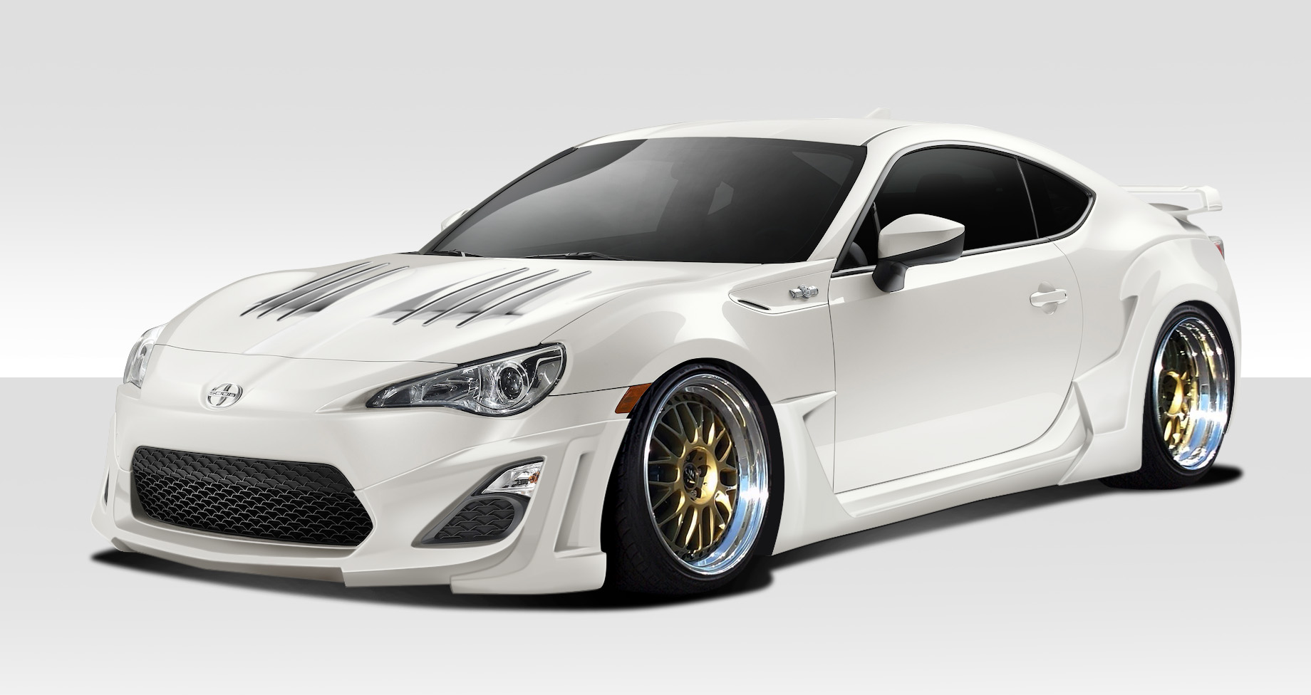 2013 2016 fits scion fr s duraflex w 1 body kit 8 piece. Black Bedroom Furniture Sets. Home Design Ideas