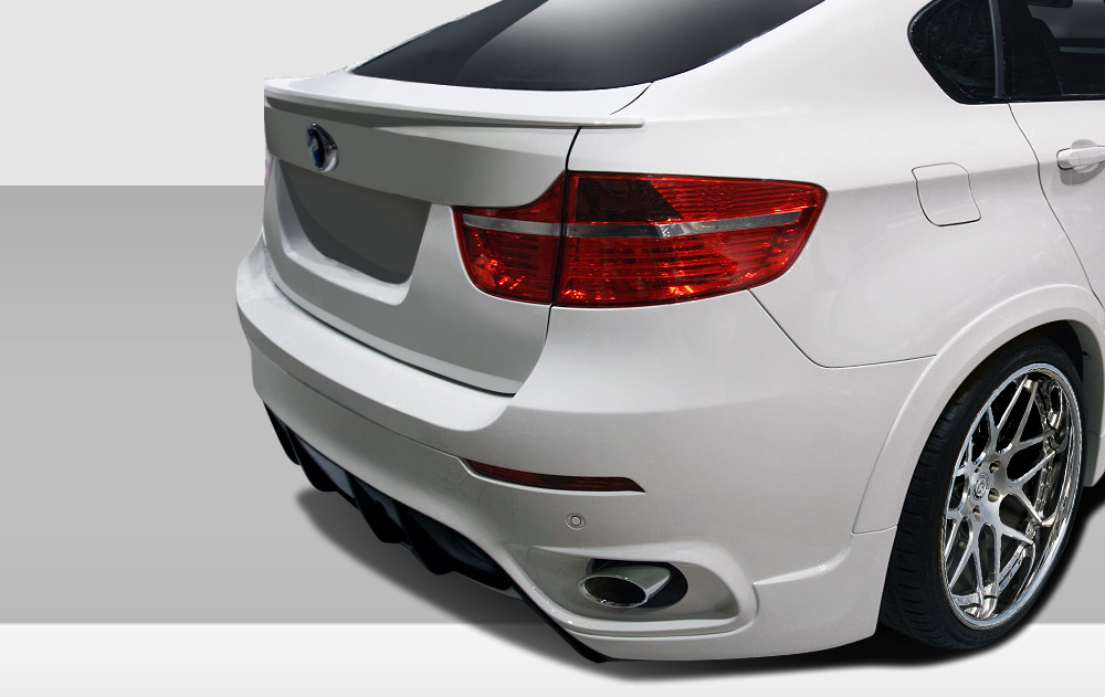 2008 2014 bmw x6 e71 e72 eros version 1 rear bumper cover. Black Bedroom Furniture Sets. Home Design Ideas