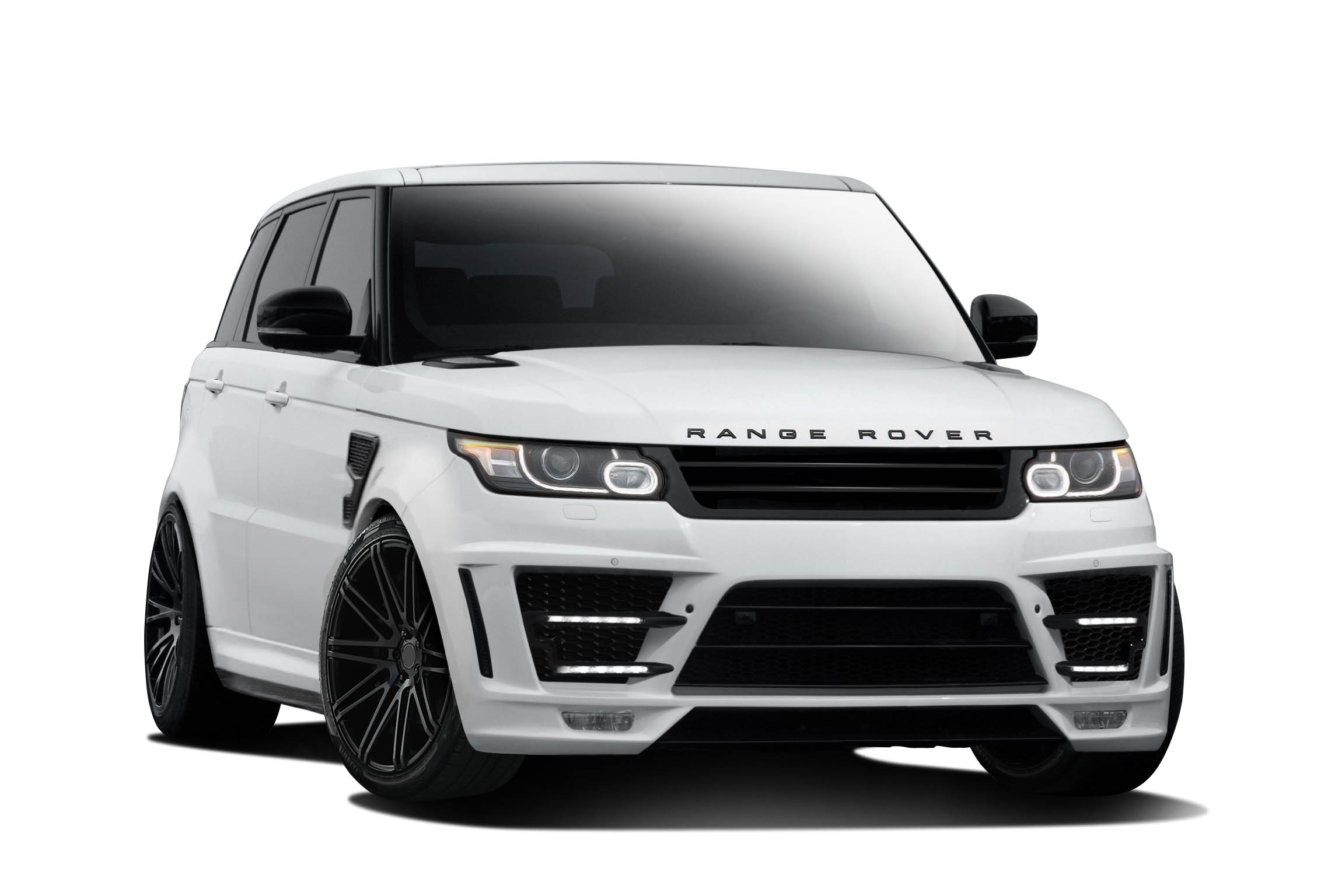 2014 2015 fits land rover range rover sport af 1 body kit pur rim gfk 10 piece exotic. Black Bedroom Furniture Sets. Home Design Ideas