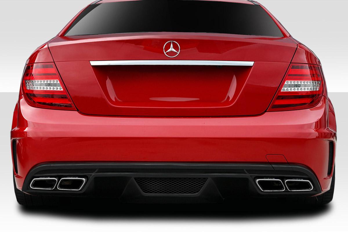 2012-2014 Mercedes C63 W204 2DR Coupe Duraflex Black Series Look Rear  Bumper - 1 Piece