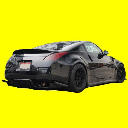 A Rear Under Diffuser Jdm Ts For 03 08 Z33 350z Fits Infiniti G35