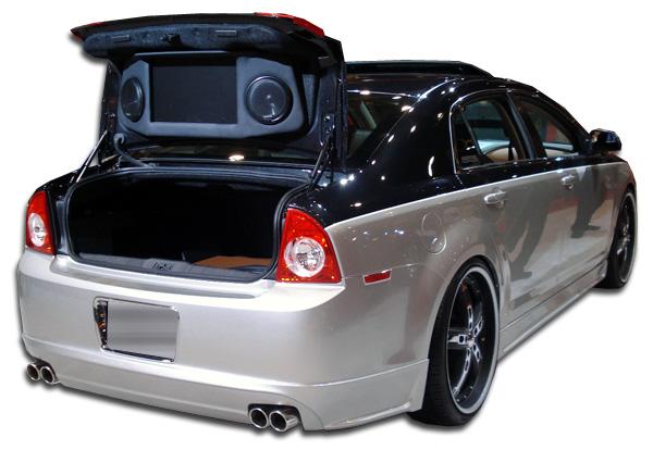 2008 2012 chevrolet malibu duraflex racer rear lip under. Black Bedroom Furniture Sets. Home Design Ideas