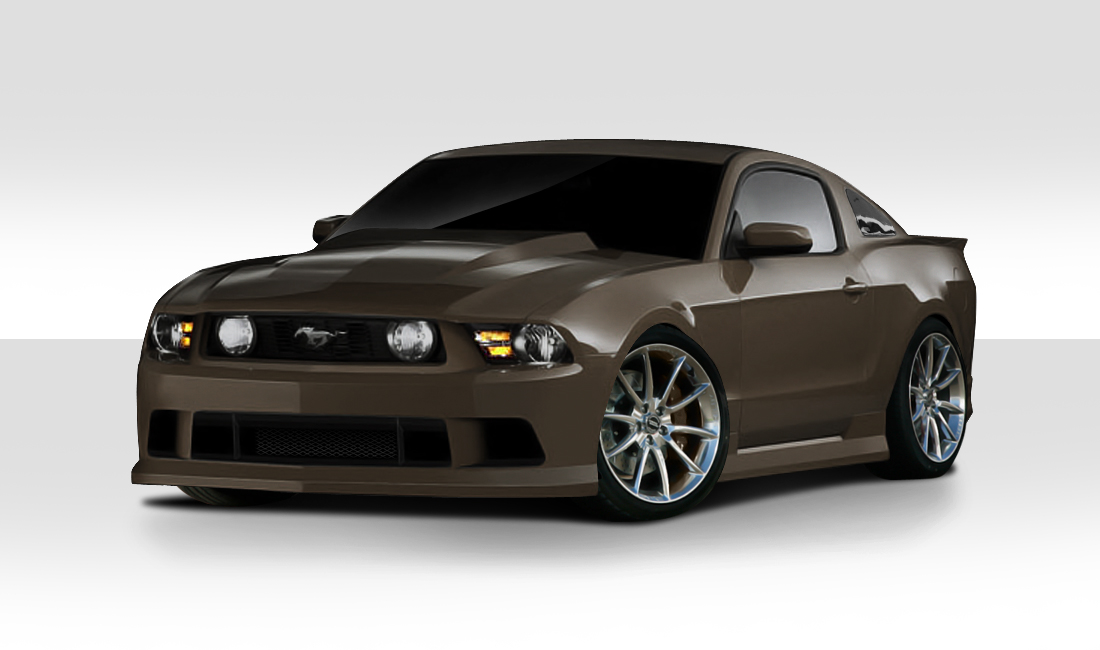 2010 2012 ford mustang duraflex circuit body kit 4 piece. Black Bedroom Furniture Sets. Home Design Ideas