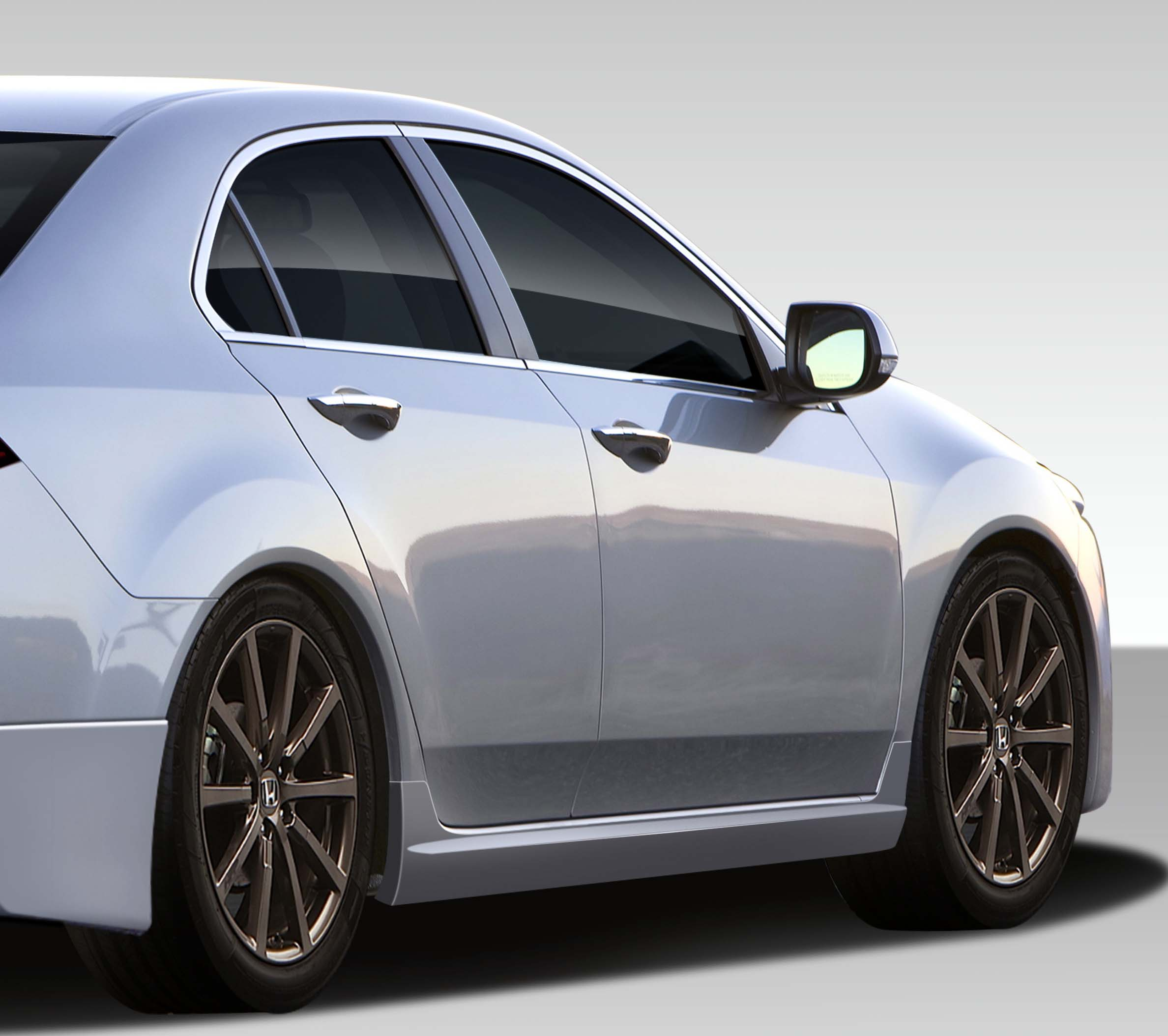 2012 Acura Tsx Special Edition For Sale: 2009-2014 Acura TSX Duraflex Type M Side Skirts Rocker