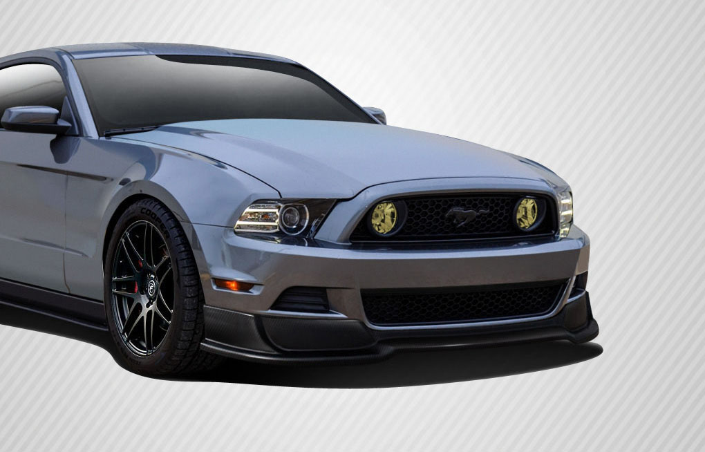 2013 2014 ford mustang carbon creations r500 front lip. Black Bedroom Furniture Sets. Home Design Ideas