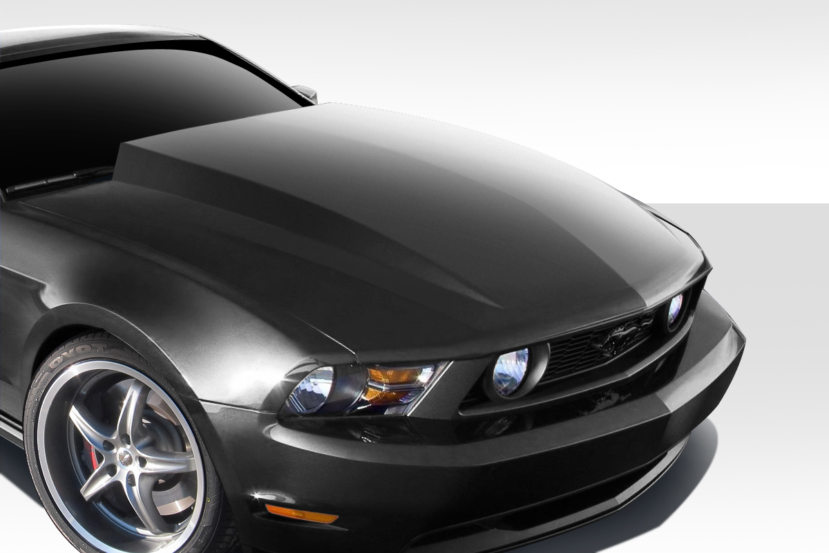 2010 2012 ford mustang duraflex cobra r hood 1 piece. Black Bedroom Furniture Sets. Home Design Ideas