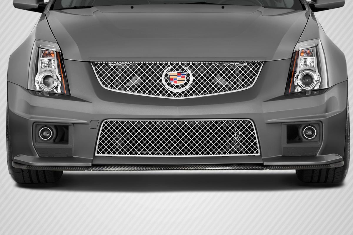 2009 2013 Cadillac CTS V Duraflex G2 Front Splitter 3