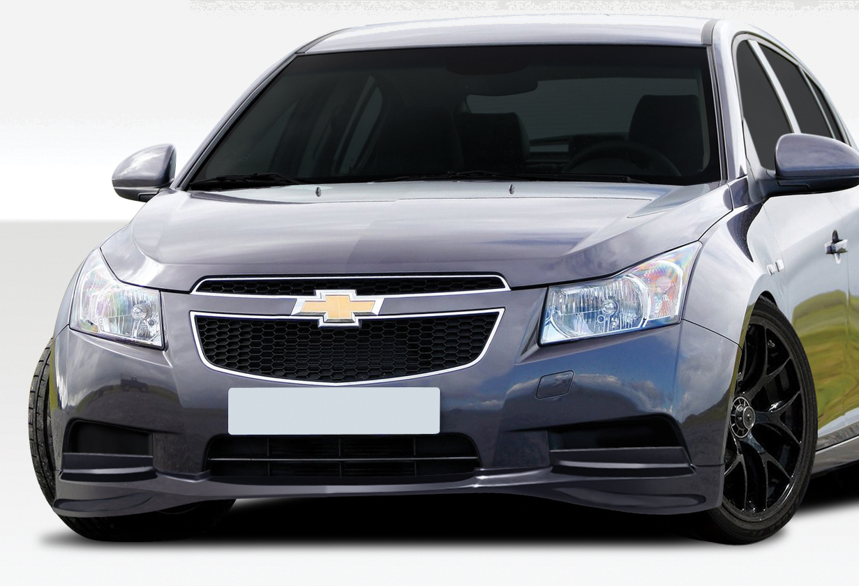 2011 2014 chevrolet cruze duraflex racer front lip under spoiler air dam 1 piece overstock. Black Bedroom Furniture Sets. Home Design Ideas