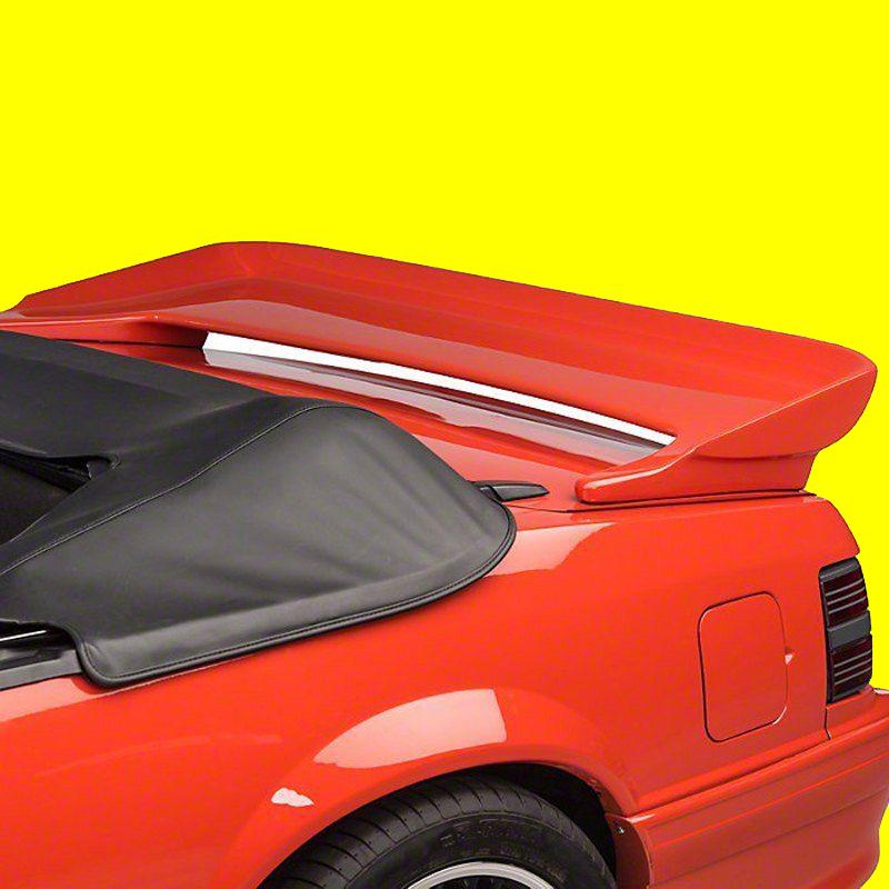 fits factory saleen style fiberglass rear spoiler. Black Bedroom Furniture Sets. Home Design Ideas
