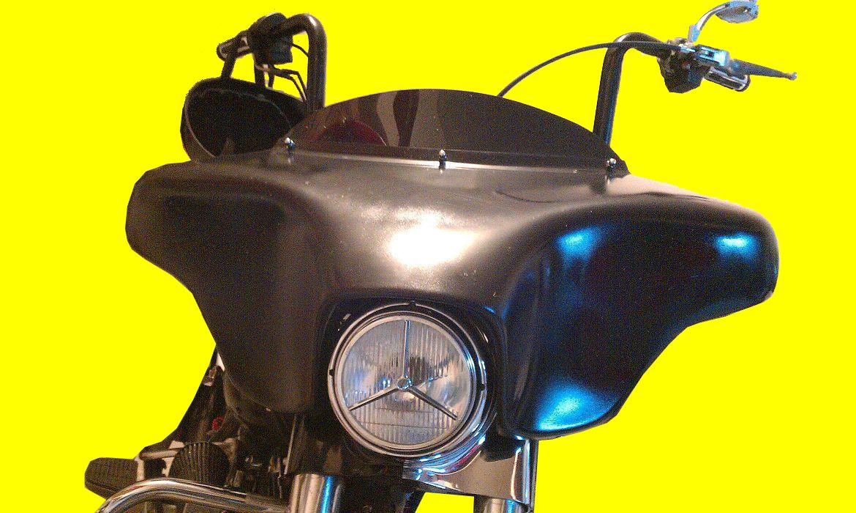 Harley Davidson Road King Windshield Stereo System