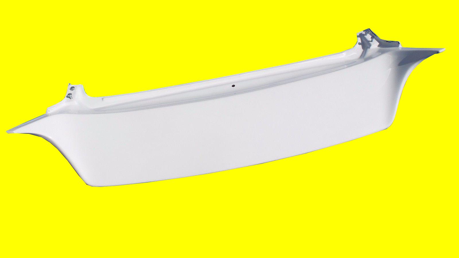 White Fiber Glass Spoiler Fits 88 91 Civic Hb J Style 3 Door Ef9 1992 Honda