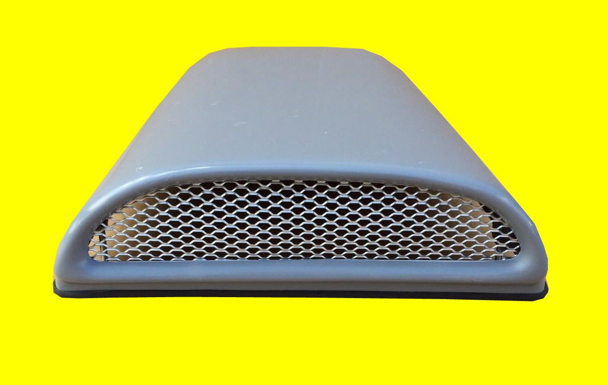 Cowl Induction Hood Air Pan : Bolt on hood scoop universal fiberglass air intake cowl